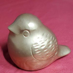 Vintage Little Fat Brass Bird
